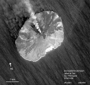 Jabal al-Tair Island