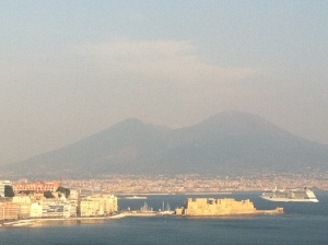Bay of Naples, Vesuvius backdrop