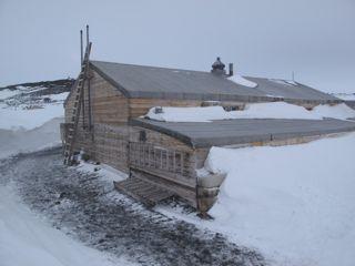 Scott's expedition hut