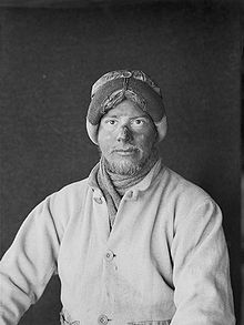 Apsley Cherry-Garrard during the Terra Nova Expedition.
