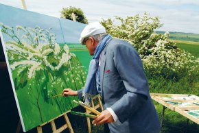 Hockney on the Rocks