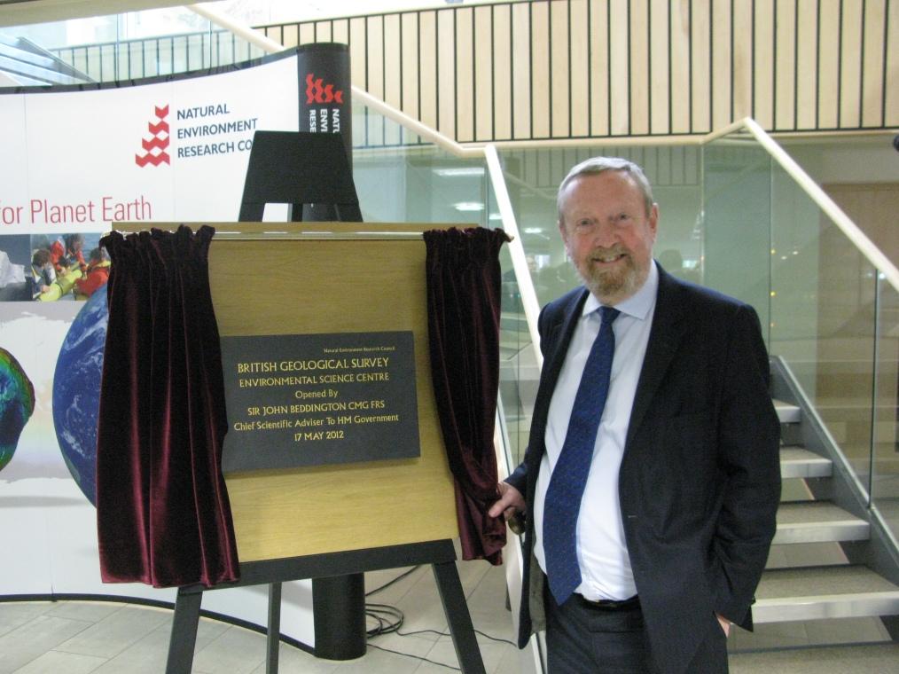BGS centre announces geology's key worth
