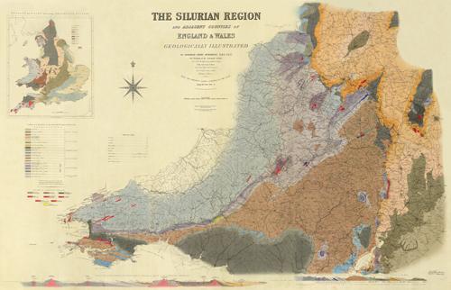 Murchison's Silurian Map