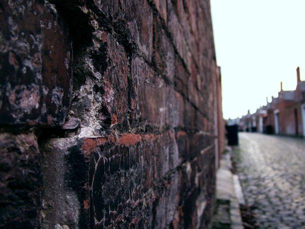 Kathering Leeming, 'Back Lane in Newcastle'