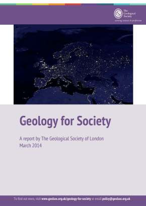 New Report Launch: 'Geology forSociety'