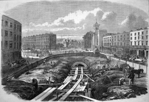 Constructing the Metropolitan Railway.