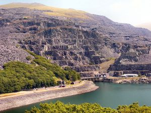 The Dinorwig Power Station in Wales. Source - Wikimedia Commons.