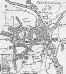 Sheffield in the eighteenth century.