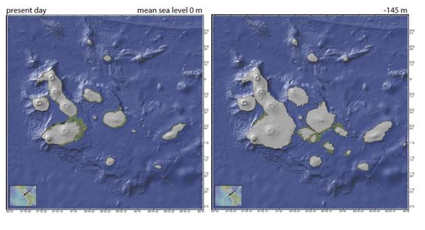 Galapagos sea level
