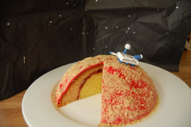 Mars cake