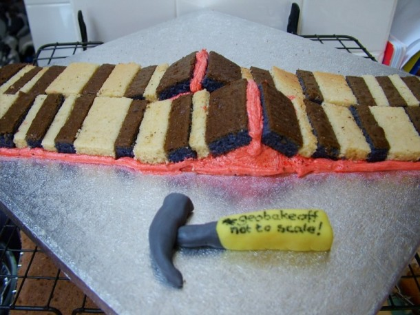 Mid Atlantic ridge cake