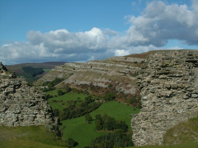 100 Great Geosites nomination: Eglwyseg Escarpment