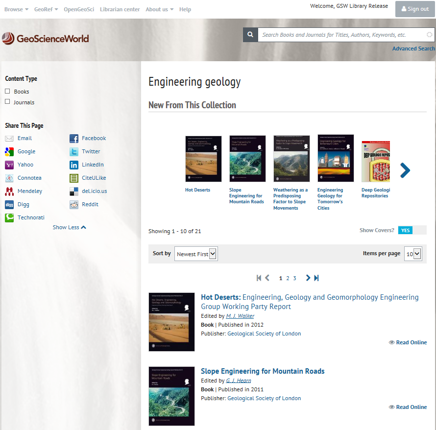 Gsl teams up with geoscienceworld ebooks geological society of engineering geology subject area search gsl publications alongside other geological society publications fandeluxe Choice Image