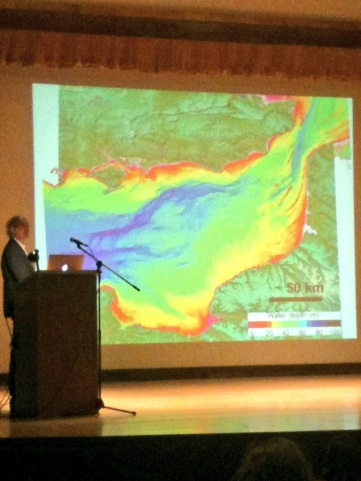 Imaging of the landscape beneath the English Channel