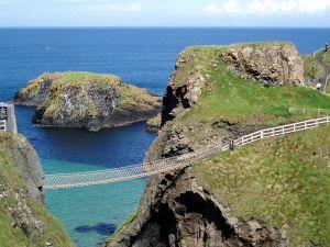 The rope bridge. Image Credit - Shiraz Chakera, Wikipedia.