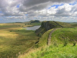 Hadrian's Wall. Image Credit - Michael Hanselmann, Wikipedia.