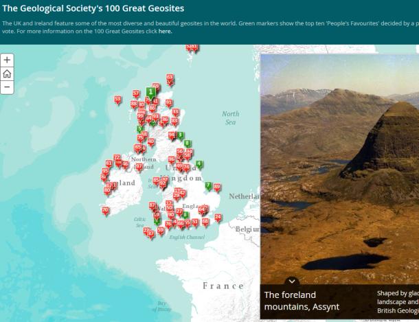 map screen shot