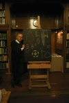 Ted Nield at the blackboard