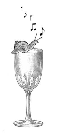 Snail glass notes edit