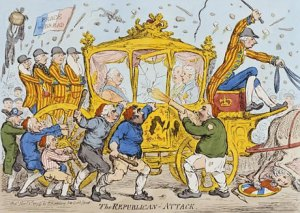 The Republican Attack by James Gillray