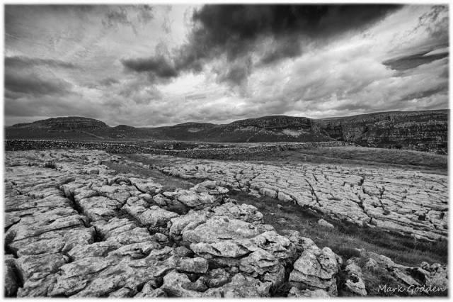 Limestone pavement near Malham (from Mark Godden for #100geosites)