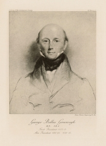Portrait of George Bellas Greenough