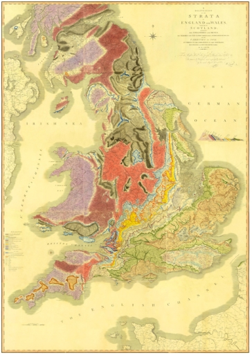 William Smith's map of England and Wales
