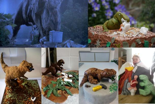 jurassic park toilet death scene montage