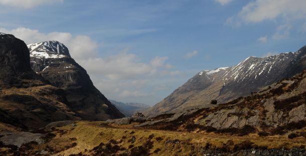 Glencoe from Old Road c Jennifer Bouwsema