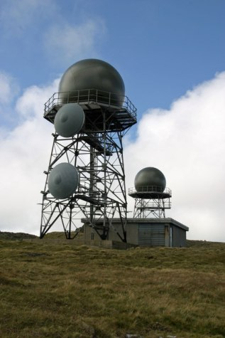Radar Domes, Mullach Mor, St Kilda ( ©Phil Thirkell)