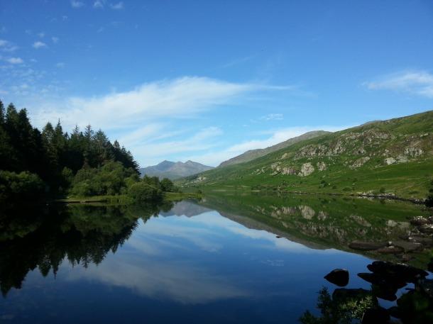 Snowdon from Llynnau Mymbr c Eoin Reddin