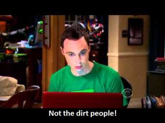 sheldon dirt people