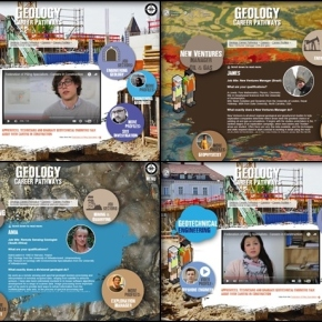 Launch of our new education and careers website: Geology Career Pathways