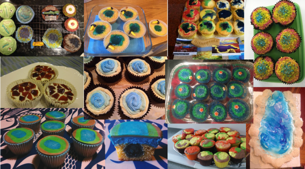 cupcake montage