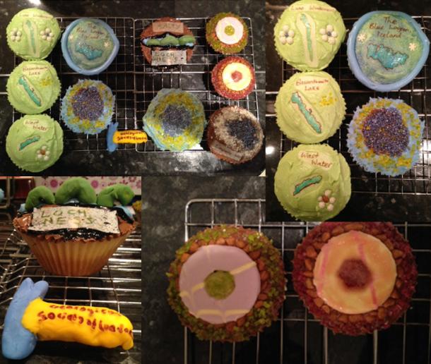 rehemat cupcake montage