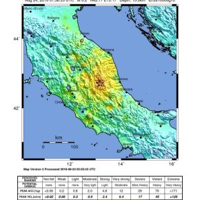 M6.2 Earthquake in Italy