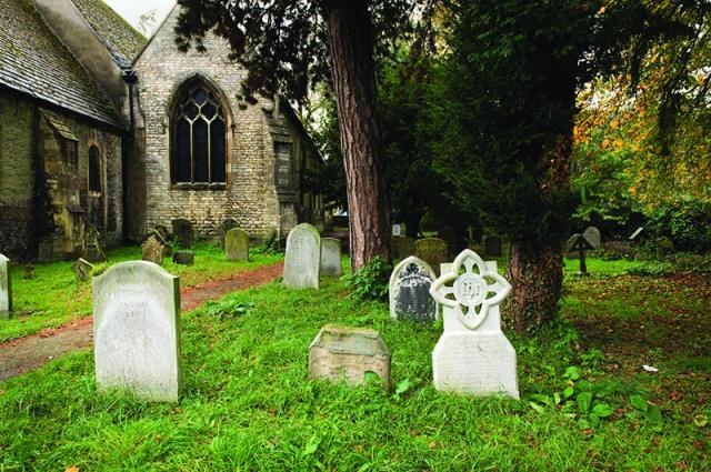 The churchyard at St Thomas the Martyr, Oxford