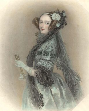 Ada Lovelace, 1815-1852 (Wikipedia)