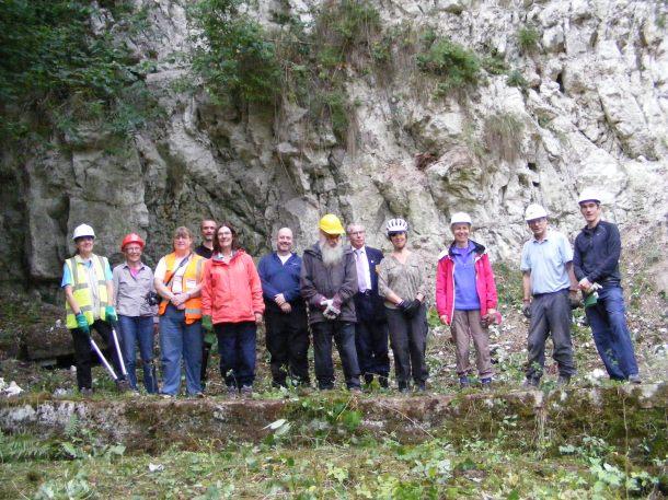 Geoconservation at Riddlesdown Quarry