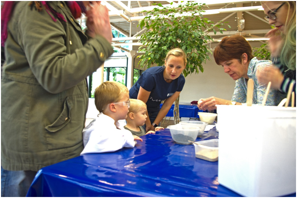 Family Science Discovery Fair at Ness Botanic Gardens