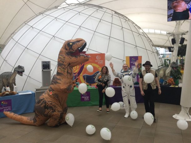 'Earth Explored' at Dynamic Earth