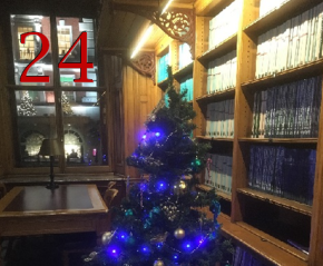 Door 24: Christmas greetings from the geoadvent blog team!