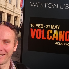 Volcano meets art: the Bodleian exhibition,Oxford