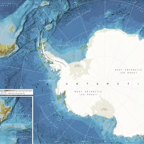 New atlas provides highest resolution imagery of the Polar Regions seafloor