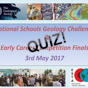 2017 National Schools Geology Challenge quick fire quiz – ANSWERS!