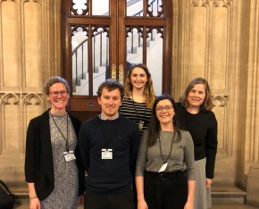 Young scientists represent the Geological Society at Houses of Parliament