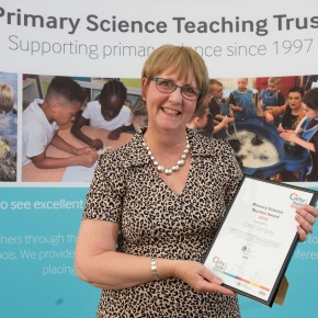Primary Science Teaching Trust Endorsed Award for CarolSampey