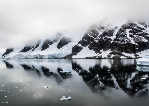 Antartic Reflections, The Gerlache Strait, Antarctica c. IngridDemaerschalk