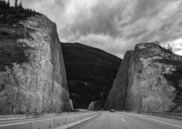 Cutting Through the Rockies, Trans-Canada Highway, Golden c. Ben Craven