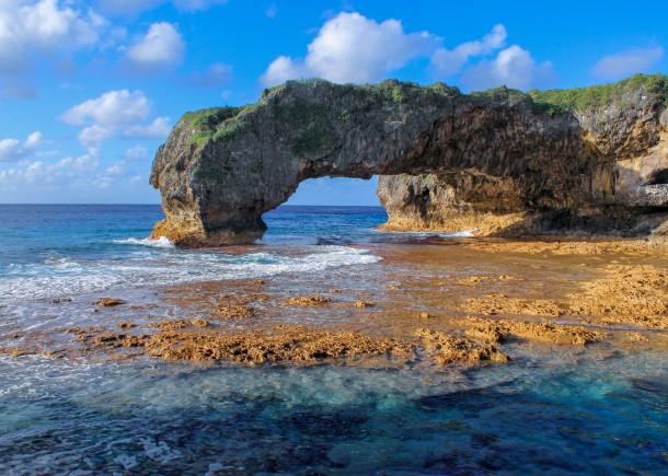 Niue Arch, Talava Arches, Hikutavake, Niue c. Ollie Dabson